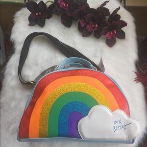 🌈 Betsey Johnson Rainbow Tote